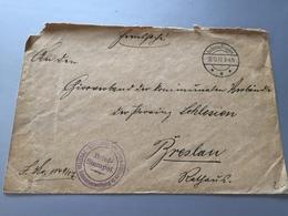 Feldpost 1.WK 1917 MILITÄR-EISENBAHN-DIREKTION 5 KASSENVERWALTUNG - Covers & Documents