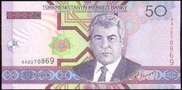 Turkmenistán 50 Manat 2005 Pk 17 UNC - Turkmenistán