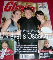 Kate Winslet, Sean Penn, Penelope Cruz GLORIA Croatian March 2009 Very Rare - Bücher, Zeitschriften, Comics