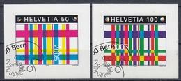 SWITZERLAND 1935-1936,used,label Stamps - Gebraucht