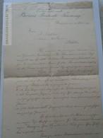 ZA192.11 PHÖNIX Biztosító Társaság Budapest - Herrn J. Lichter -Siófok  1887  -Insurance - Invoices & Commercial Documents