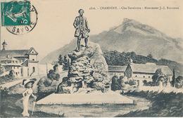 CHAMBERY - N° 2816 - CLOS SAVOIROUX - MONUMENT J-J ROUSSEAU - Chambery