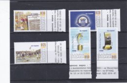 Bulgaria 2003 FIFA 100 Years - 5 Stamps MNH/**   (H49) - Neufs