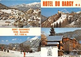 ¤¤  -  BONNEVILLE   -  MONT-SAXONNEX   -  Hôtel Du BARGY     -   ¤¤ - Autres Communes