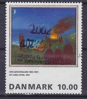 Denmark 1995 Mi. 1108   10.00 Kr Painting Gemälde Johannisnacht Von Jens Søndergaard - Dänemark