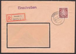 DDR Dienstpost-R-Brief Eisenach 28.5.56, Thüringer Kmmgarnspinnrei Nach Spremberg 70 Pfg. BPP Geprüft Wz 2XII - [6] Oost-Duitsland