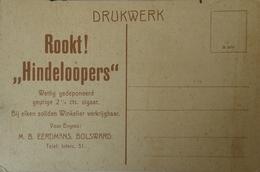 Bolsward // Reklame Rookt Hindeloopens - M. B. Eerdmans Bolsward 19?? - Bolsward
