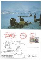 Eskimo D'Amassalik - Groënland - Départ Des Traineaux Pour La Chasse - Expo Au Musée De L'Homme - Paul Emile Victor - Europe