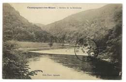 CPA 07 CHAMPAGNAC-LES-MINES GORGES DE LA DORDOGNE - Andere Gemeenten