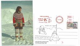 Eskimo D'Amassalik - Groënland - Jeune Fille En Tenue De Fête - Expo Au Musée De L'Homme - Paul Emile Victor - Europe