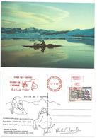 Eskimo D'Amassalik - Groënland - Chasse En Kayak - Expo Au Musée De L'Homme - Paul Emile Victor - Europe