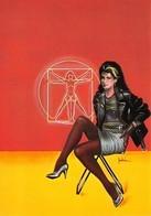 Série Illustrateurs Nugeron N'H 412 - Erotique 2 - Pin-Up - Bas - Chaussures Talon Haut - Pin-Ups