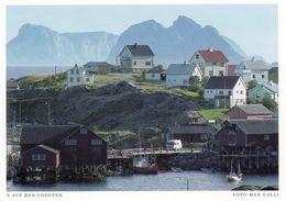 1 AK Norwegen Lofoten * Der Ort Å I Auf Der Insel Moskenesøy - Eine Karte Aus Dem Harenberg Sehnsuchts Kalender * - Norwegen