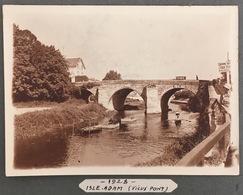 Isle-Adam. Le Vieux Pont. - Places