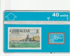 Gibraltar -  Warships 1993 - HMS Hood - Gibraltar