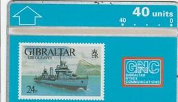 Gibraltar -  Warships 1993 - USS Gleaves - Gibraltar