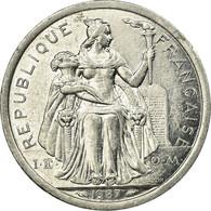 Monnaie, Nouvelle-Calédonie, 2 Francs, 1987, Paris, TTB, Aluminium, KM:14 - Nouvelle-Calédonie