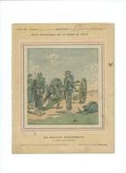 Guerre 1870-71 Deutschland Krieg Batterie Chaullaguet Orléans Couverture Protège-cahier Passable +/- 1900 3 Scans - Book Covers