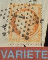 R1917/142 - ✉️ - CERES N°38 - ETOILE N°1 De PARIS - PARIS à ST FLORENTIN - BELLE VARIETE ➤➤➤ Filets Complètement Absents - 1870 Siege Of Paris