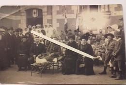 1915/1916 Hopital Croix Rouge Bléssé Français Infirmiers Curé Scout Veuves Tranchée Poilus 1914 1918 WW1 - War, Military