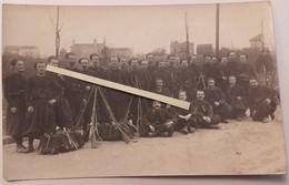 1914 Zouaves à L'instruction 1 Er Régiment Fusils Gras Rosny? St Denis? Tranchée Poilus 1914 1918 WW1 - War, Military