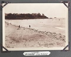 Dinard. La Plage. Bretagne. 1929. - Places