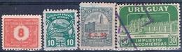 Uruguay 1938 / 690  -  Yvert  48 + 89 + TAXA  30  ( ** )   94  ( Usado ) - Uruguay