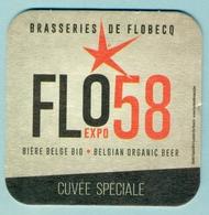 Brasserie Flobecq ' Anniversaire Expo 1958 ' TB - Beer Mats