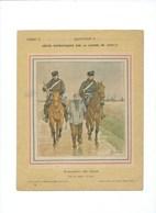 Guerre 1870-71 Deutschland Krieg L'Armée De L'Est Couverture Protège-cahier Bien +/- 1900 3 Scans - Protège-cahiers