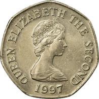 Monnaie, Jersey, Elizabeth II, 20 Pence, 1997, TTB, Copper-nickel, KM:66 - Jersey