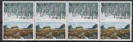 Europa Cept 1977 Sweden 2v  Strip Of 4v ** Mnh (42392) - 1977
