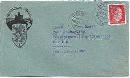 Diekirch - Kreissparkasse Nach Wiltz, Kreisjägermeister 06-06-1944 - Besetzungen