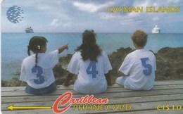 Cayman Islands - New Area Code - 345 (Children) - 131CCIC - Isole Caiman
