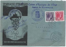 Ettelbruck - Sparkasse Nach Weiswampach 22-05-1945 - Luxemburg
