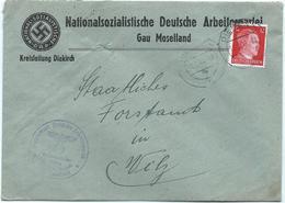 Diekirch - Kreisleitung Nationalsozialistische Deutsche Arbeiterpartei (NSDAP) - Gau Moselland 11-02-1944 - Besetzungen