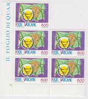 Vatican City 1981 Disabled Persons 1v 5x ** Mnh (42393A) - Vaticaanstad