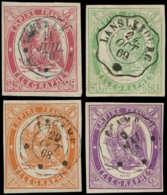 FRANCE Télégraphe O - 1/4, Tous Bien Margés, Signés Brun - Cote: 995 - Telegraaf-en Telefoonzegels