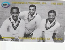 """Trinidad & Tobago - Cricket - """"The 3 W"""" - 118CTTC - Trinidad & Tobago"""