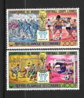 PA - 1978 - N° 153 à 154*MH - 'Vainqueurs Coupe Du Monde De Football En Argentine - Comores (1975-...)