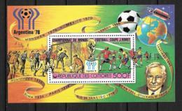BF - 1978 - N° 13*MH - Coupe Du Monde De Football En Argentine - Comores (1975-...)