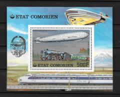 BF - 1977 - N° 8**MNH - Dirigeable Graff Zeppelin - Comores (1975-...)