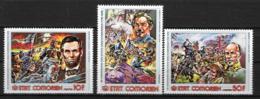 1976 - N° 167 à 169**MNH - 200 Ans De L'indépendance Des Etats-Unis - Comores (1975-...)