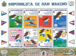 San Marino 1958-1965 Kleinbogen (kompl.Ausg.) Postfrisch 2001 Sportspiele - San Marino