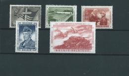5 Timbres Belgique 1032/36xxx -MNH - Unclassified