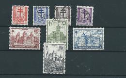 8 Timbres Belgique 868/75 Oblitérés - Belgique