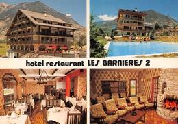 GUILLESTRE - Hôtel-Restaurant Les Barnières II - Piscine - Cheminée - Guillestre
