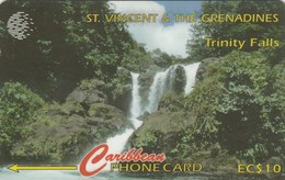 St. Vincent & The Grenadines - Trinity Falls - 114CSVA - St. Vincent & The Grenadines