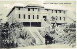 GHANA - Gold Coast - SEKONDI - West Africa - Hotel Metropole - Sent Out Freetown Sierra Leone To Renaix - Ghana - Gold Coast
