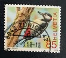 Used Stamp Of Swtizerland 2018: Bird 2517, Oblitere Suisse, Gestempelt Schweiz, Usato - Used Stamps