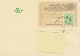 Belgie 1971 150J. Briefkaart  BK1 1ste Dag Afstempeling Antwerpen 19.4.71 (42394) - Geïllustr. Kaarten